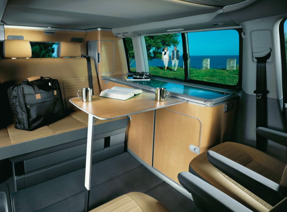 Интерьер Volkswagen Multivan California